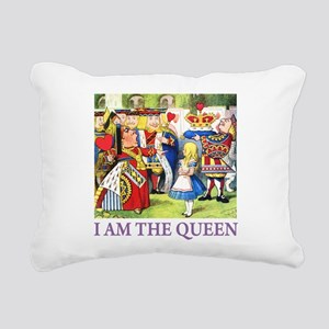 ALICE - I AM THE QUEEN_PURPLE Rectangular Canv