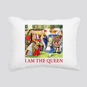 ALICE - I AM THE QUEEN Rectangular Canvas Pill