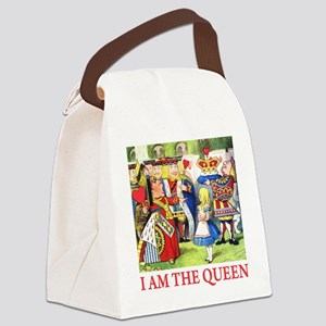 ALICE - I AM THE QUEEN Canvas Lunch Bag