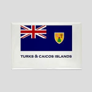 The Turks & Caicos Islands Flag Gear Rectangle Mag