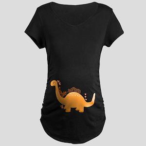 Cutie-Saurus Maternity Dark T-Shirt