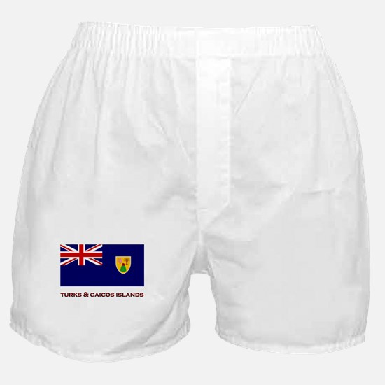 The Turks & Caicos Islands Flag Merchandise Boxer