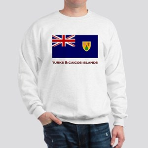 The Turks & Caicos Islands Flag Merchandise Sweats