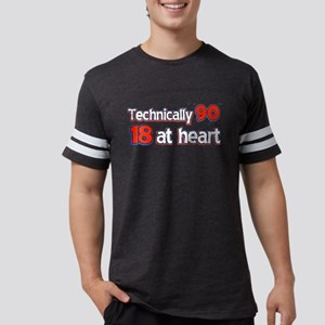90 year old designs Mens Football Shirt
