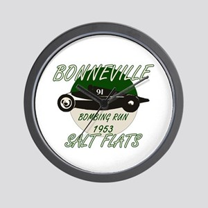 Bonneville Bombing Run-1953-Green-2 Wall Clock