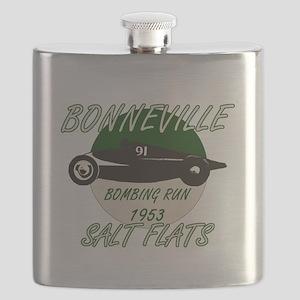 Bonneville Bombing Run-1953-Green-2 Flask