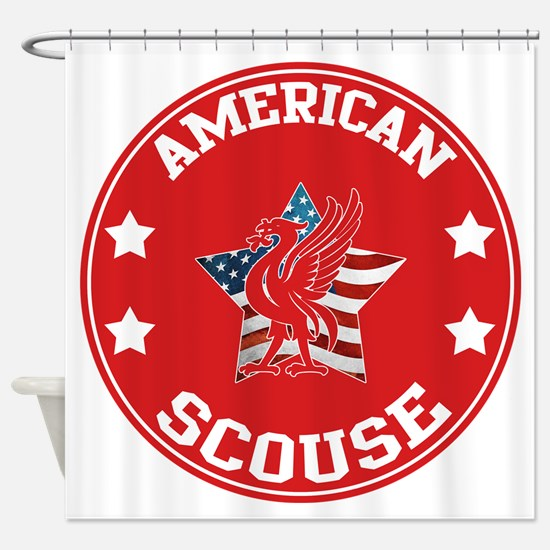 American Scouse (Liverpool) Shower Curtain