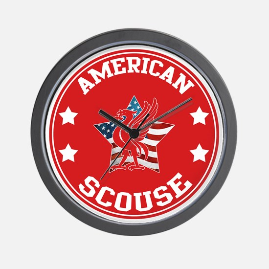 American Scouse (Liverpool) Wall Clock