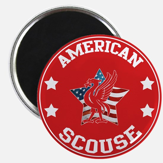 American Scouse (Liverpool) Magnet