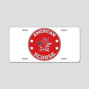 American Scouse (Liverpool) Aluminum License Plate
