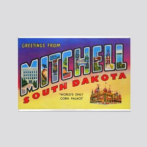 Mitchell South Dakota Greetings Rectangle Magnet