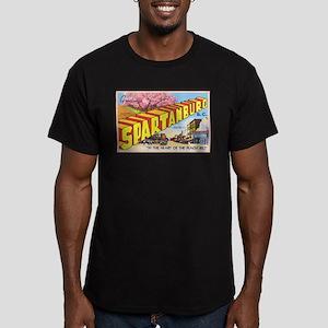 Spartanburg South Carolina Men's Fitted T-Shirt (d