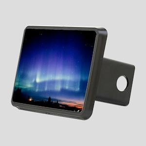 View of a colourful aurora borealis display - Hitc