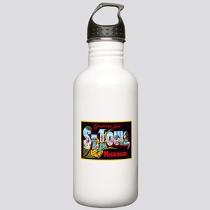 St Louis Missouri Greetings Stainless Water Bottle
