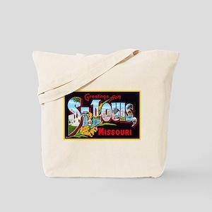 St Louis Missouri Greetings Tote Bag