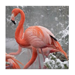 Flamingo Profile Tile Coaster