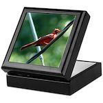 Perching Cardinal Keepsake Box
