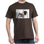Panda Rolling In Snow Dark T-Shirt