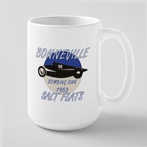 Bonneville Bombing Run-1953-Blue-2 Large Mug