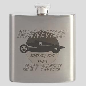 Bonneville Bombing Run-1953-2-VINTAGE Flask
