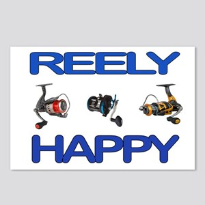 REELY HAPPY Postcards (Package of 8)