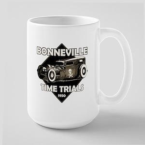 Bonneville Time trials-1950-Vintage Large Mug