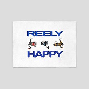 REELY HAPPY 5'x7'Area Rug