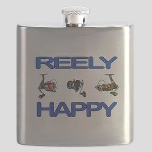 REELY HAPPY Flask