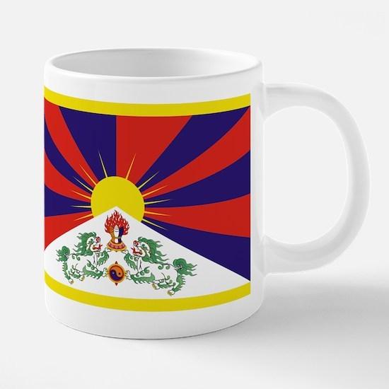 Tibet Flag Mugs
