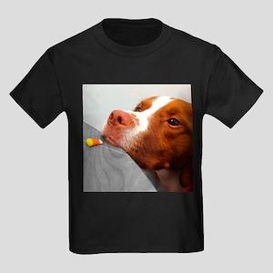 Candy corn dog Kids Dark T-Shirt