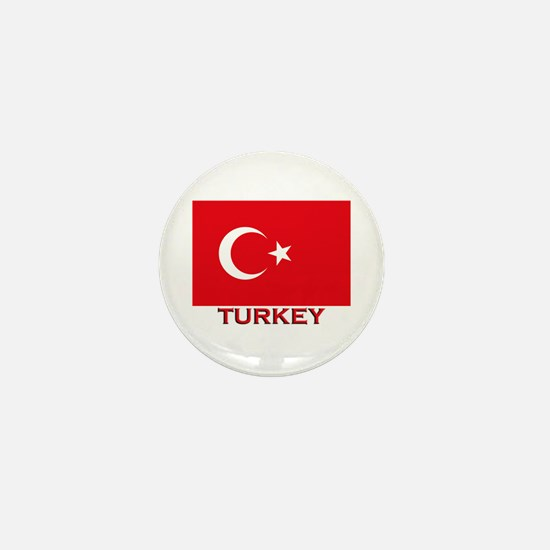 Turkey Flag Merchandise Mini Button