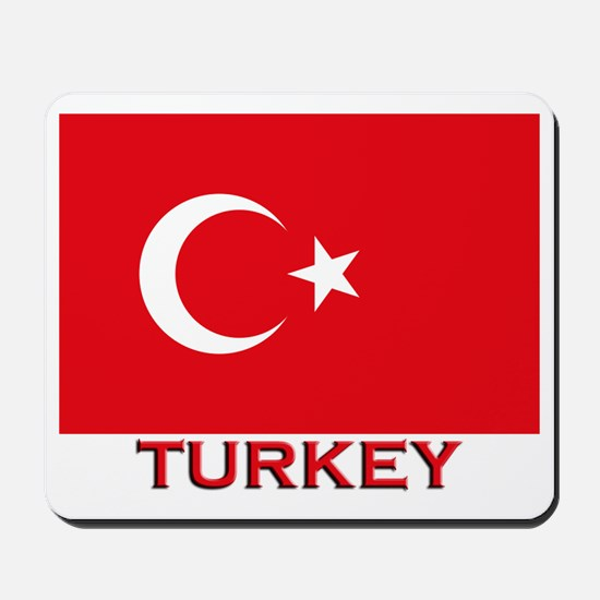 Turkey Flag Merchandise Mousepad