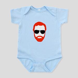 BeardoGlasses Infant Bodysuit