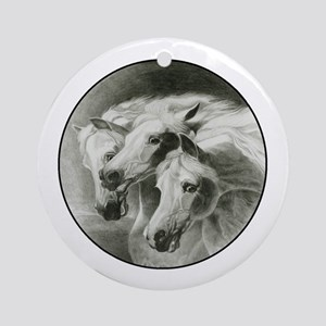 Pharaoh's Horses Ornament (Round)