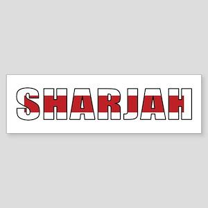 Sharjah Bumper Sticker