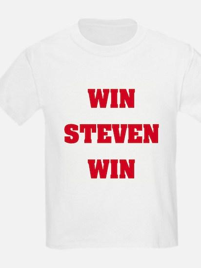 WIN STEVEN WIN Kids T-Shirt