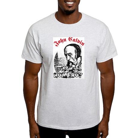 Calvin Ash Grey T-Shirt