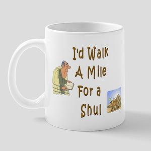 Walk to Shul Mug