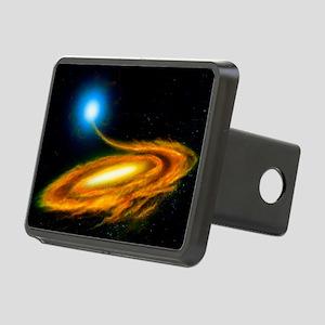 Artwork: binary star system containing black hole