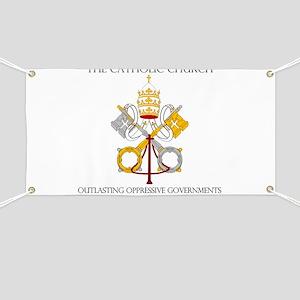 The Catholic Church Banner
