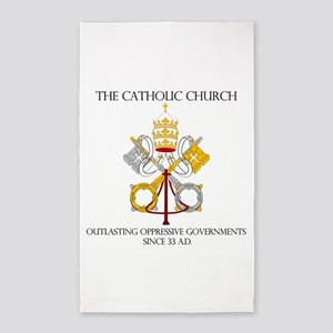 The Catholic Church 3'x5' Area Rug