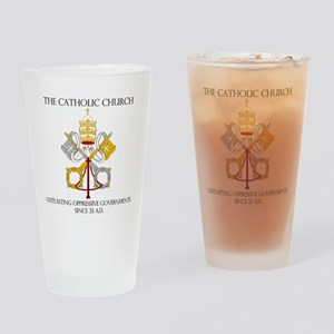 The Catholic Church Drinking Glass