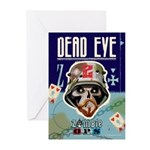 Dead Eye Greeting Cards (Pk of 10)