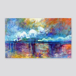 Monet Charing Cross Bridge 3'x5' Area Rug