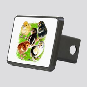Five Chicks Rectangular Hitch Cover