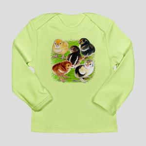 Five Chicks Long Sleeve Infant T-Shirt