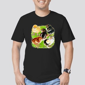 Five Chicks Men's Fitted T-Shirt (dark)