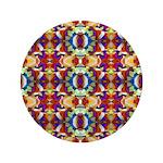 Retro Fractal Art Pattern 3.5