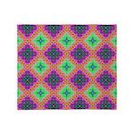 Green Pink and Purple Checkered Pattern Stadium B