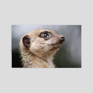 Meerkat Searching the Skies 3'x5' Area Rug